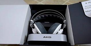 A Pair of AKG K 701 Mixing Headphones
