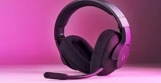 A Pair of Logitech Headphones