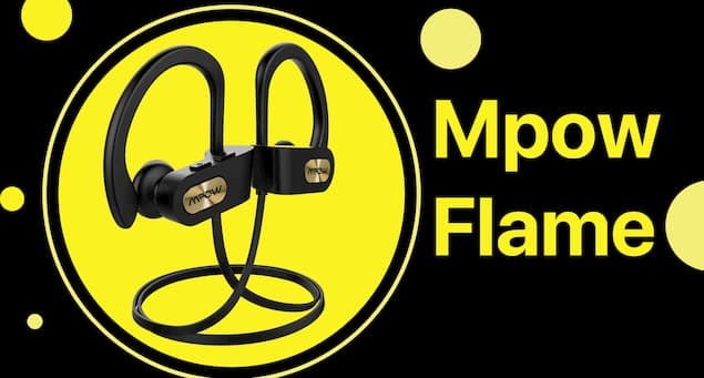 A Pair of Mpow Flame Headphones