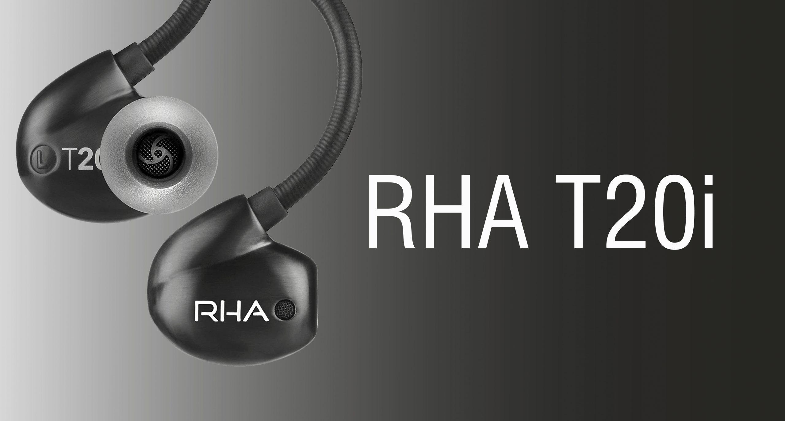 A Pair of RHA T20i Headphones