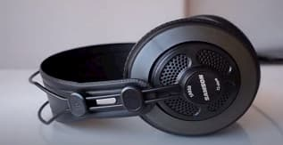Semi-Open-Back Studio Reference Headphones