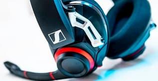 A Pair of Sennheiser Game One Headphones
