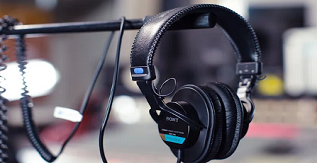 A Pair of Sony MDR 7506 Headphones