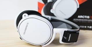 A Pair of Steelseries Headphones