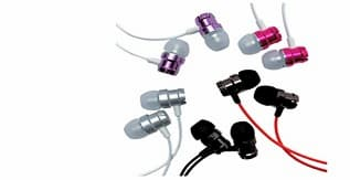 A Pack of 5 Xentyx Earbuds for Kids