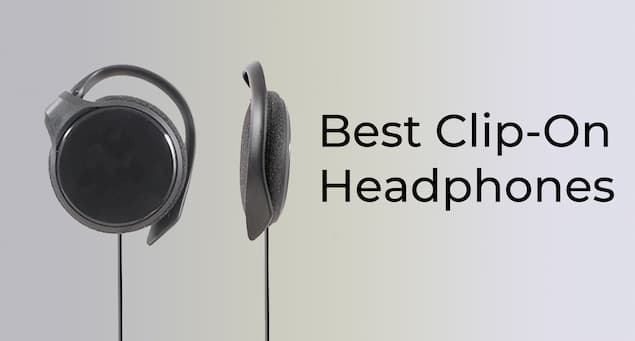 6 Best Clip-On Headphones
