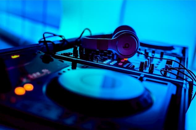 A Pair of DJ Headphones