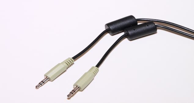 Dual Jack Headset Cable