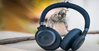 A Pair of JBL Live 650BNTC Headphones