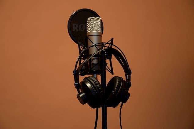 A Pair of Studio Headphones