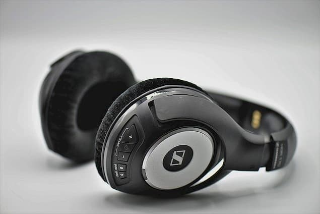 A Pair of Wireless Headphones