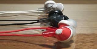 Panasonic ErgoFit RPHJE120-V Earbuds Wired