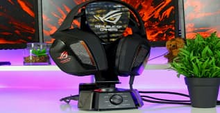 ASUS ROG Centurion Gaming Headset With USB Control Box Example