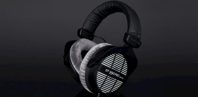 Beyerdynamic DT 990 Pro Headphones have an open-back design