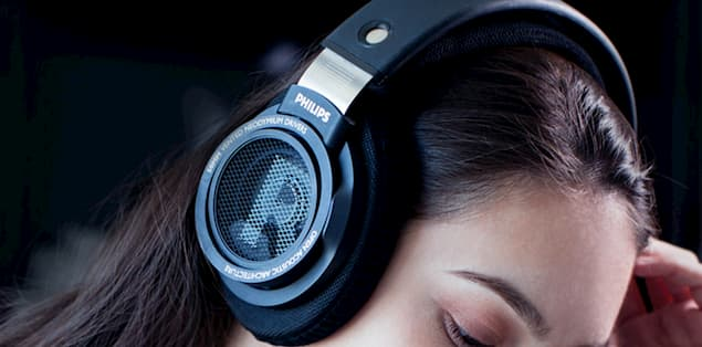 The Philips SHP9500 Headphones comprise 50 mm drivers
