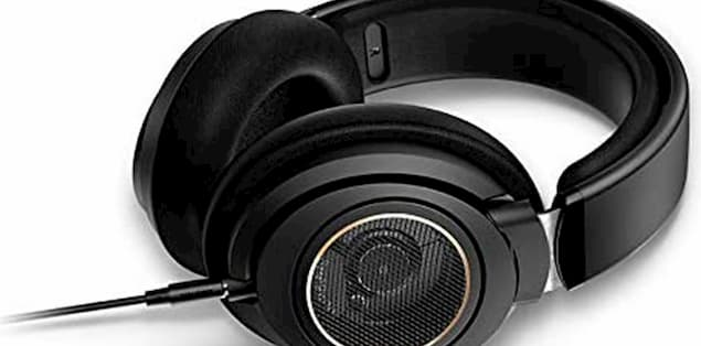 Philips SHP9500 Headphones have an open-back design