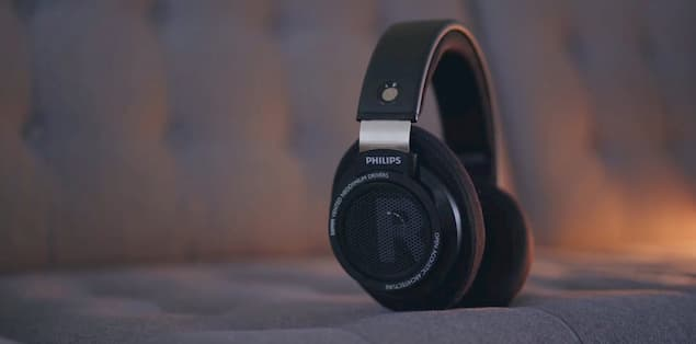 A Pair of Philips SHP9500 Headphones