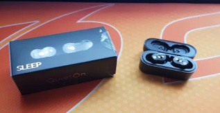 A Pair of QuietOn Earbuds