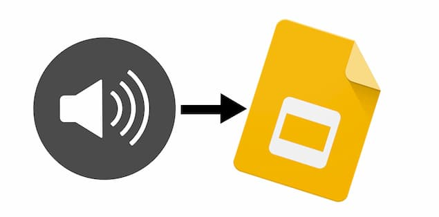 Is There Any Way to Add Audio to Google Slides
