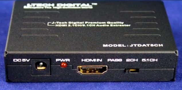 Best HDMI Audio Extractor 4K 60Hz