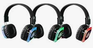 50 Pack Silent Sound System Silent Disco Headphone Package