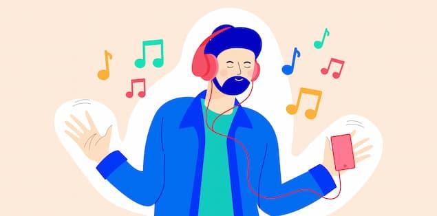 Avoid bulky headphones