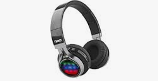 NAXA Electronics Bluetooth Vibe Foldable Headphones with Microphone & FM Radio