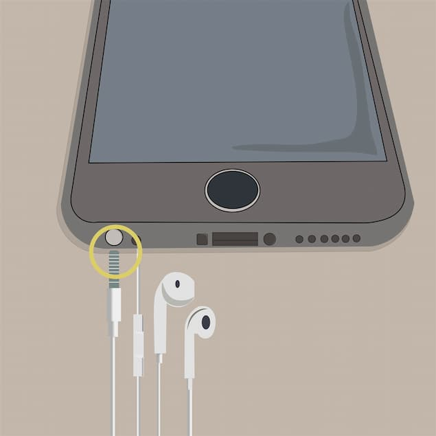 Connect a Pair of Headphones