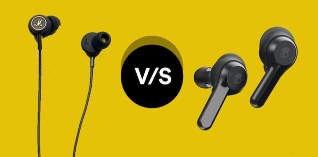 Wired versus wireless gaming earbuds