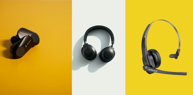 Earbuds vs Headphones vs Headsets Comparison