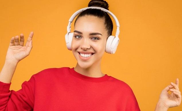 A Pair of On-Ear Headphones