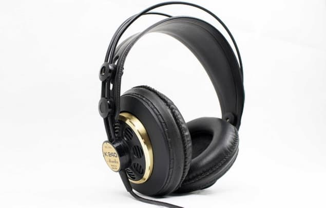 A Pair of Open-Back Headphones