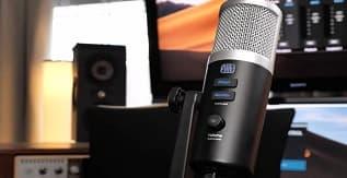 PreSonus Revelator USB Condenser Microphone for Podcasting