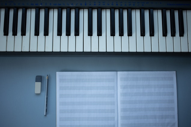 . Decorate It With a Piano