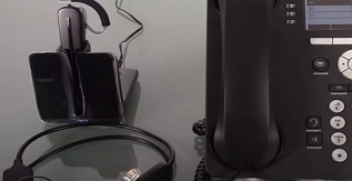 Avaya Compatible Plantronics CS540 VoIP Wireless Headset