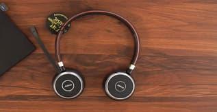 Jabra Evolve 65 UC Stereo Wireless Bluetooth Headset