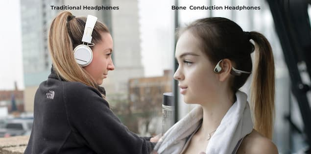 Why Bone Conduction Headphones Over Traditional Headphones for Athletes and Fitness Enthusiasts