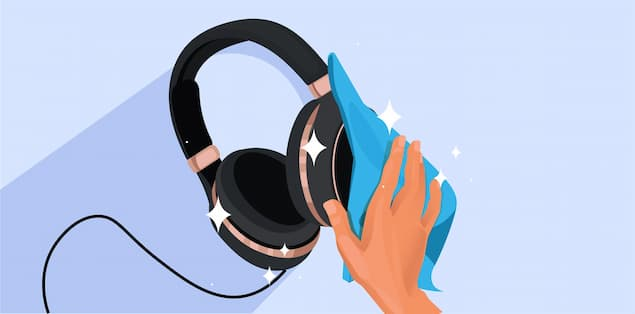 How To Clean Over-the-Ear Headphones?