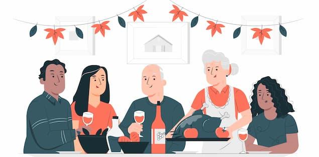Arrange a potluck party