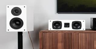 Fluance Elite High Definition Surround Sound Home Theater 5.0 Channel Speaker System