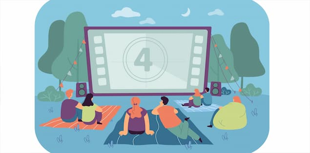 Plan a digital movie party