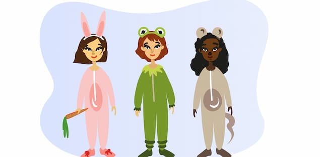 Plan a pajama party with movie for kids