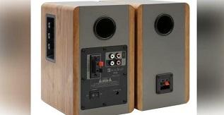 SINGING WOOD BT25 Active Bluetooth Bookshelf Speakers
