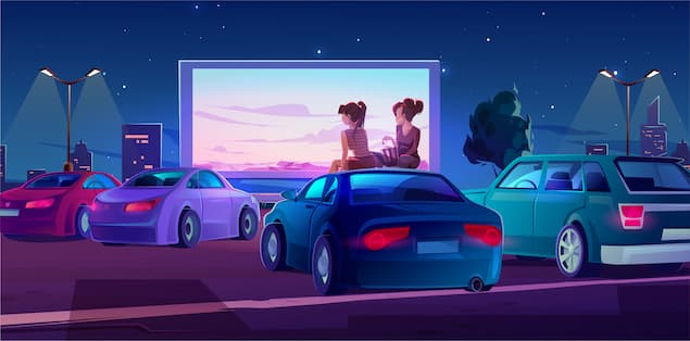 Turning your parking lot into a movie theater