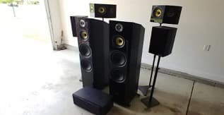 Fluance Signature HiFi 3-Way Floorstanding Tower Speakers