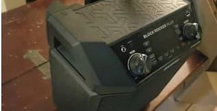 ION Audio Block Rocker Plus - Portable Bluetooth Speaker 100W WBattery (1)