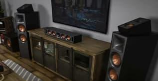 Klipsch R-625FA Powerful Detailed Floorstanding Single Home Speaker