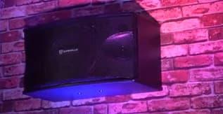 "Rockville Pair KPS10 10"" 3-Way 1200 Watt Karaoke Speakers"