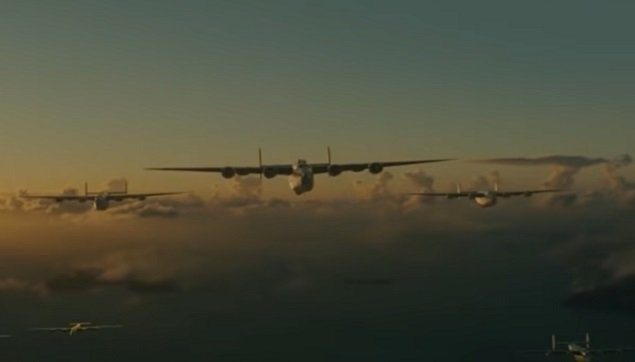 The Bombing Raid Scene from Unbroken (Year of Premier: 2014)