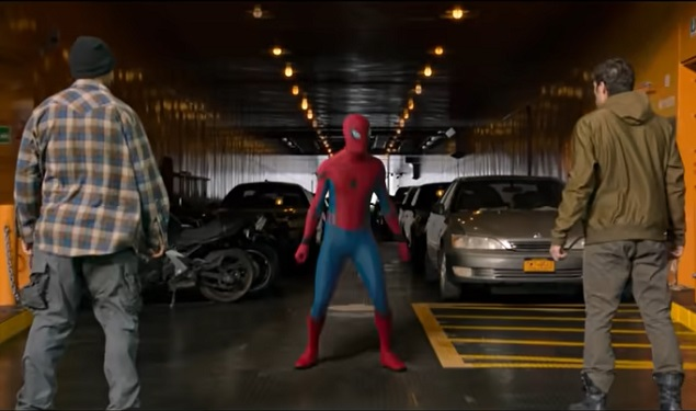 The Ferry Scene from Spider-man: Homecoming (Year of Premier: 2017)